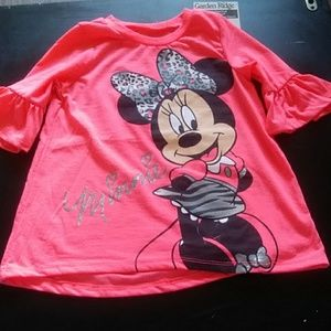 Girl's two piece Minnie Mouse outfit